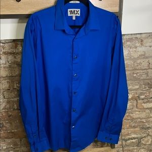 Express 1MX Large Fitted Blue